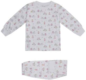 Kissy Kissy Queen Of The Castle Print Pyjamas