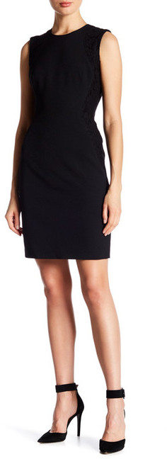 Anne Klein Anne Klein Sheath Dress With Lace Accent
