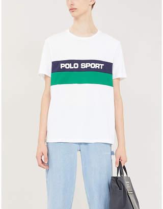 Polo Ralph Lauren logo-printed cotton-jersey T-shirt