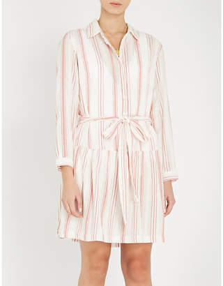 Melissa Odabash Amelia striped cotton dress