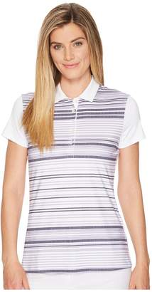 Puma Road Map Polo Women's Short Sleeve Pullover