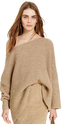 Polo Ralph Lauren Alpaca-Blend Boatneck Sweater $298 thestylecure.com