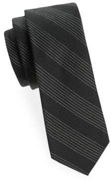 Tudor Stripe Wool Scarf