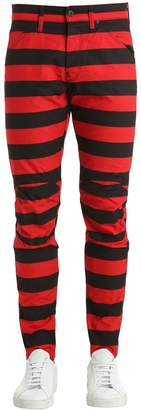 Elwood Prison Stripe Denim Jeans