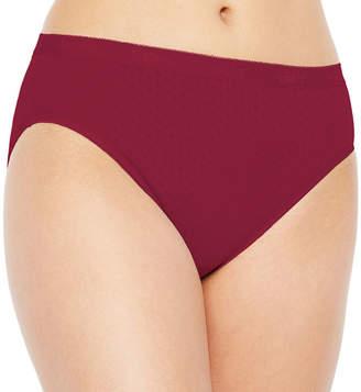Underscore Pointelle Cotton Knit High Cut Panty