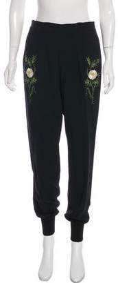 Stella McCartney Embroidered Skinny Pants