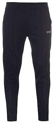 Soul Cal SoulCal Mens Deluxe Pintuck Jogging Pants Jersey Bottoms Trousers Lightweight