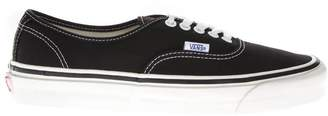 Vans Anaheim Factory Authentic 44 Black Textile Sneakers