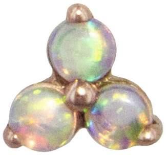Maria Tash Large Trinity Opal Stud Earring - Rose Gold