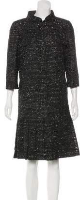 Chanel 2016 Iridescent Canvas Dress