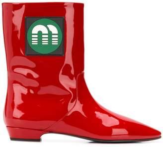 Miu Miu 5U253CFB0203AR9 011 Furs & Skins->Calf Leather