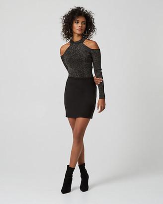 Le Château Ponte Knit Mini Skirt