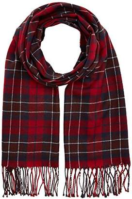 Lee Men's Check Scarf,One (Size: 88)