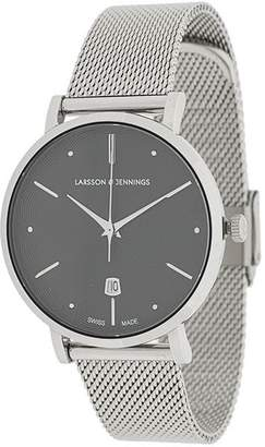 Larsson & Jennings Aurora Silver Milanese 38mm watch