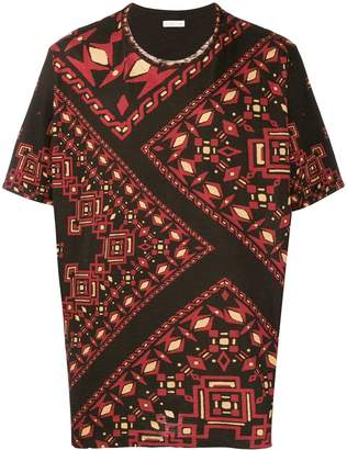 Etro patterned T-shirt