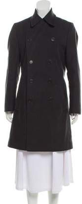 Helmut Lang Double-Breasted Notch-Lapel Coat