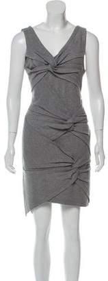 Robert Rodriguez V-Neck Knee-Length Dress