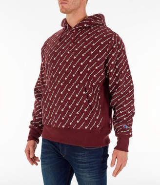 Champion Men's Reverse Weave Allover Hoodie