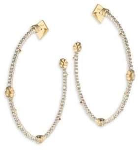 Alexis Bittar Roxbury Muse Knotted Hoop Earrings