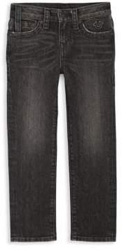 True Religion Boy's Geno Logo Jeans
