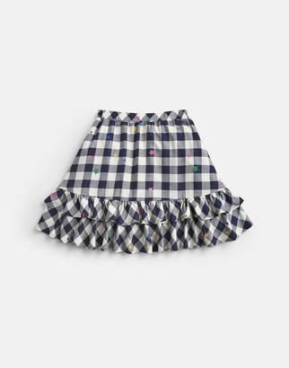 Joules Margot Woven Frill Skirt 3-12yr