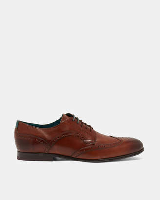 Ted Baker LARRIY Wing cap leather brogues