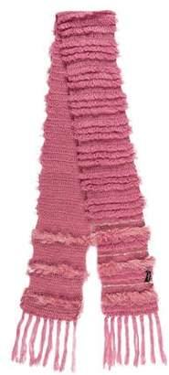 Betsey Johnson Fur Knit Scarf