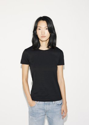 Sunspel Short Sleeve Crew Neck $90 thestylecure.com