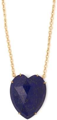 Irene Neuwirth Lapis and yellow-gold necklace