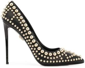 Philipp Plein studded high-heel pumps