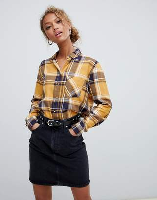 New Look Long Sleeved Checked Shirt
