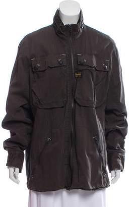 G Star Four Pocket Long Sleeve Jacket