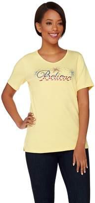 Americana Quacker Factory Believe Short Sleeve T-shirt