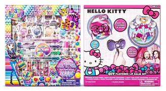 Hello Kitty Assorted Lisa Frank/Hello Kitty Cosmetic Set $9.99 thestylecure.com