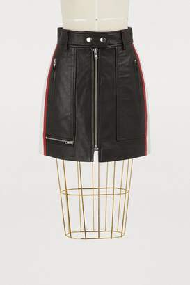 Etoile Isabel Marant Alynne leather shorts