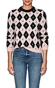 Philosophy di Lorenzo Serafini Women's Marquee Diamond-Pattern Sweater