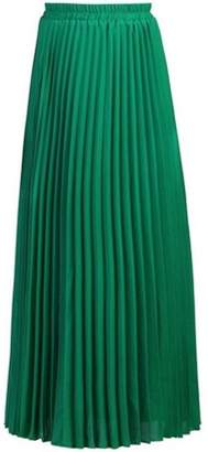 Dorothy Perkins Womens *Jolie Moi Green Pleated Maxi Skirt
