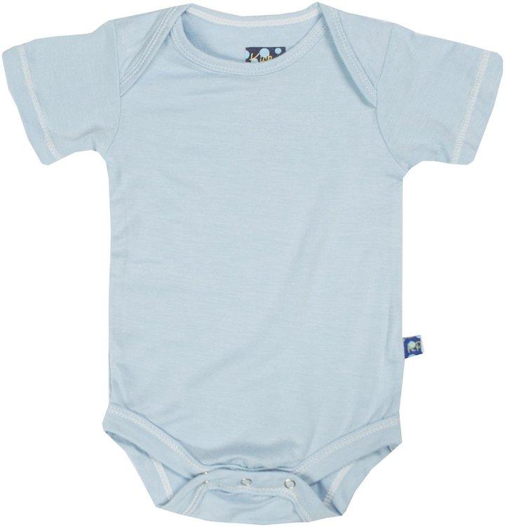 Kickee Pants Short Sleeved Bodysuit - Twilight-12-18 M