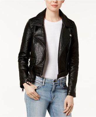 Joe's Faux-Leather Moto Jacket $128 thestylecure.com