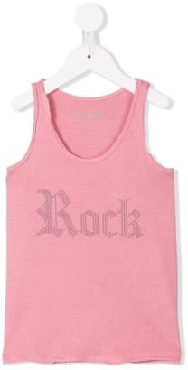 Zadig & Voltaire Kids Rock studded tank top