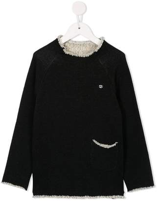 Fith long-sleeve knit sweater