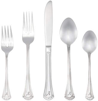 Asstd National Brand RiverRidge Excelsior 46 Pc Personalized or Solid Flatware Set