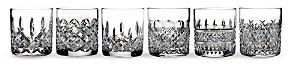 Heritage Straight Whiskey Glasses, Set of 6