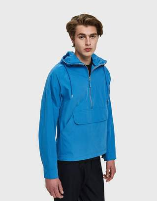 Co Pop Trading Drs Hooded Halfzip Jacket in Soft Blue