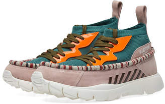 Valentino Heroes Tribe Moccasin Sneaker