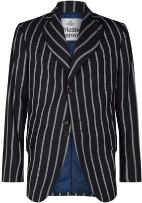 Vivienne Westwood Wool Stripe Blazer