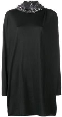 Gianluca Capannolo Elenor sequin neck dress