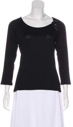 Les Copains Embellished Long Sleeve Top