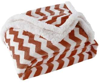 BA&SH LALA + BASH Lala & Bash Fifi Chevron Sherpa Throw Blanket