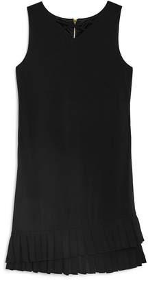 Laundry by Shelli Segal Girls' Ruffle-Hem Shift Dress - Big Kid